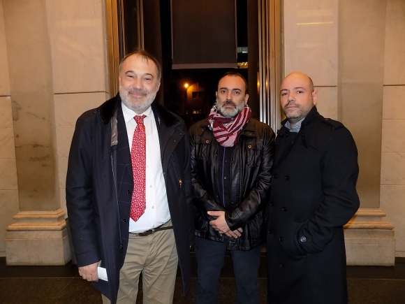 Roberto Varela, Jorge Barth, Augusto Techera.