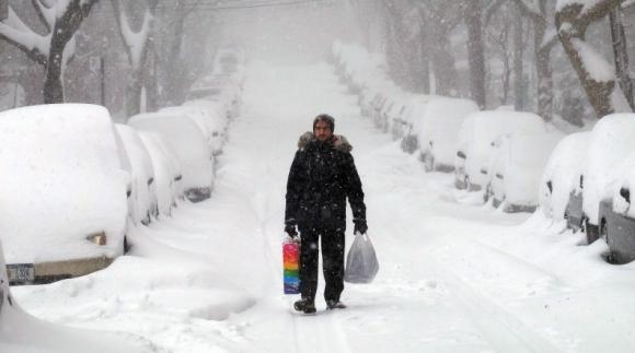 Esta tormenta podría ser casi tan grave como la de 1992. Foto: AFP