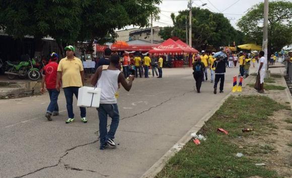 Colombia y Uruguay jugarán en el Metropolitano de Barranquilla. Foto: @angel_aste