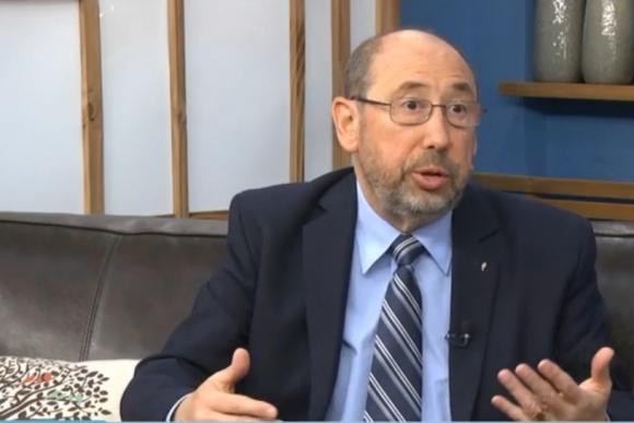 Alfredo Etchandy estuvo de visita en El País TV. Foto: Captura de video