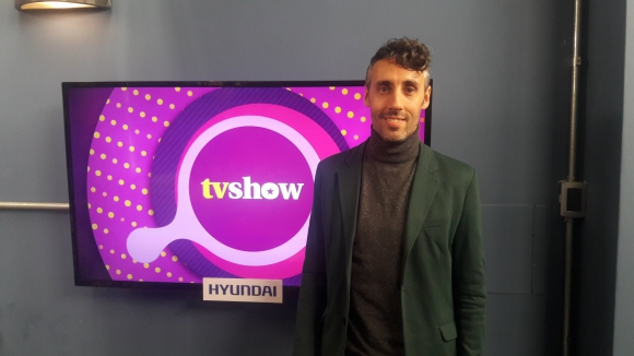 Martín Inthamoussú en Tv Show.