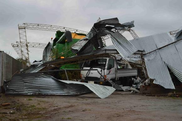 Ásí pasó el tornado. Foto: Daniel Rojas