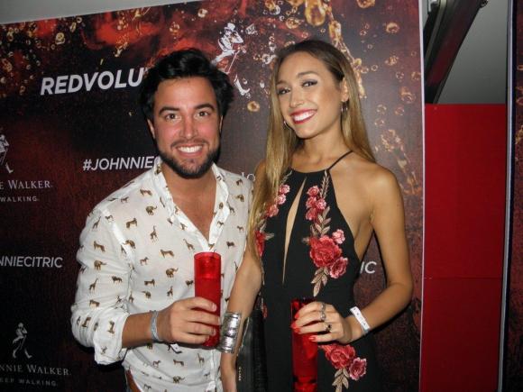 Fernando Cristino y Melina Carballo.