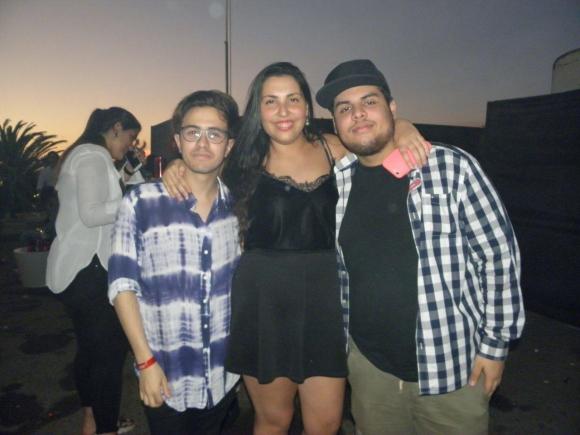 Agustín Correa, Nata Rubinstein y Nicolás Vellozo.