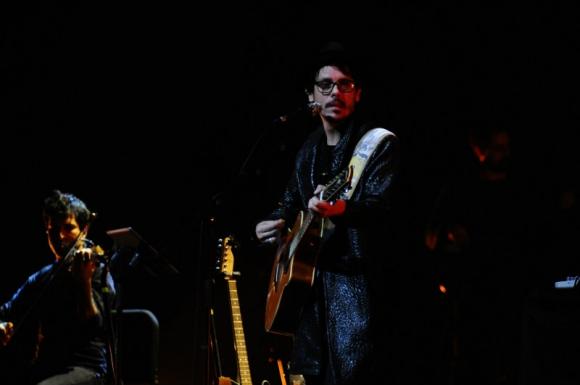 Lisandro Aristimuño en el Auditorio. Foto: Marcelo Bonjour