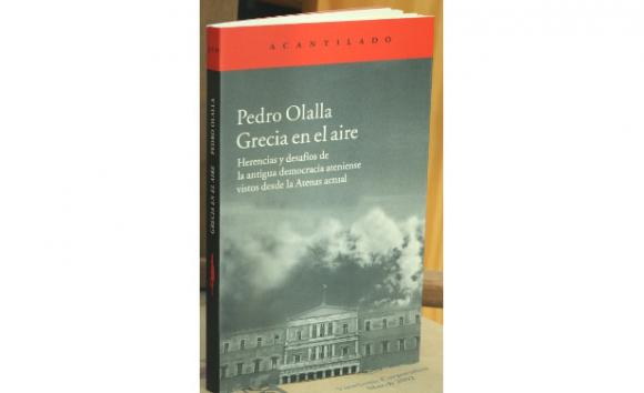 Grecia en el aire, Pedro Olalla