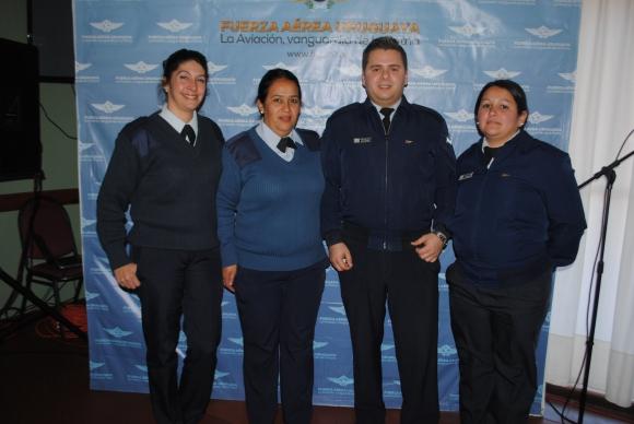 Patricia Silva, Ana Ramírez, Alfonso Irrazabal, Sandra Gutiérrez.