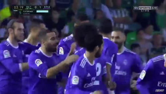 Betis-Real Madrid (6-1)