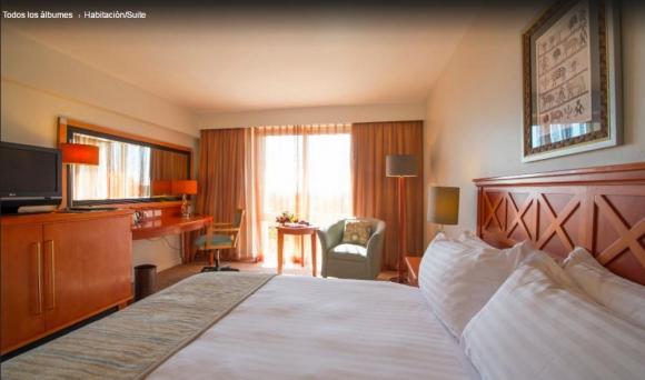La habitación del  Business Suite del Intercontinental de Zambia. Foto: Tripadvisor
