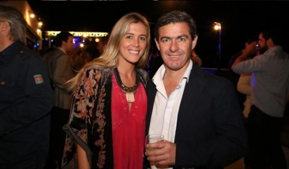 Víctor Paullier y Margarita Rachetti en un evento el año pasado. (Archivo)