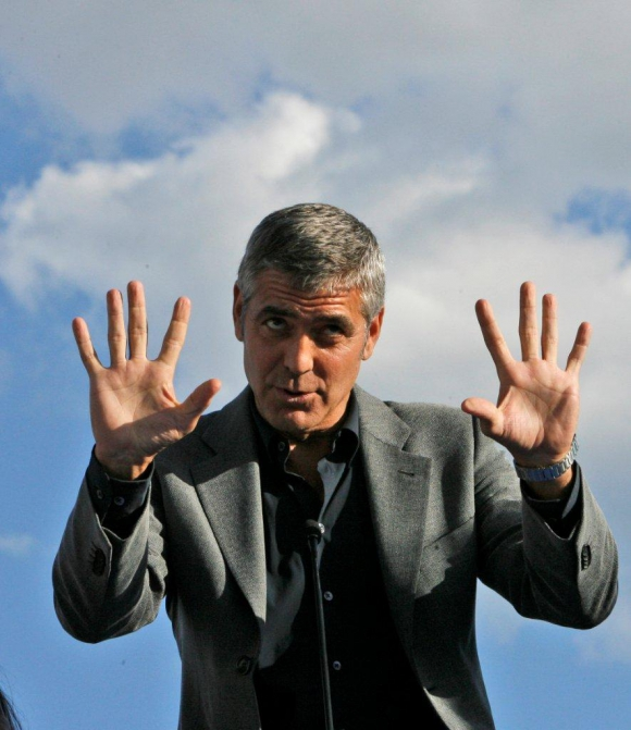 George Clooney es el galán maduro por excelencia