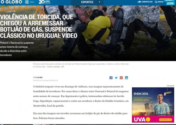 Globo de Brasil.
