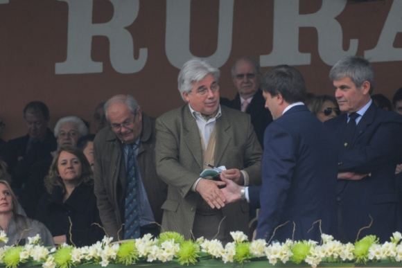 Tabaré Aguerre y Ricardo Reilly en la Expo Prado. Foto: Ariel Colmegna.