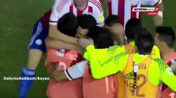 Paraguay 1-4 Perú
