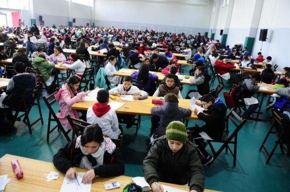 Olimpiadas: mil niños van a las finales. Foto: Marcelo Bonjour