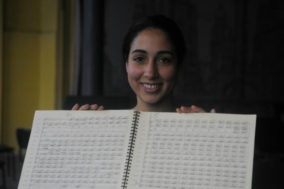 Mariana González será la primera mujer egresada de la licenciatura (Foto: Ariel Colmegna)