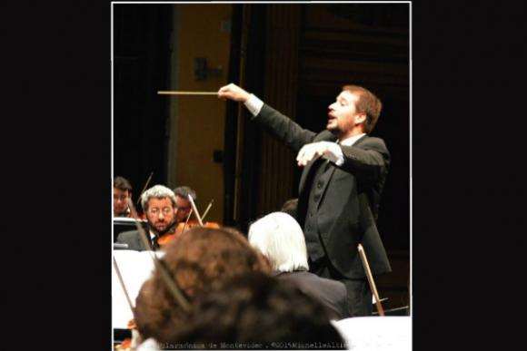 Esteban Louise, director de orquesta y del Coro del Sodre (Foto: gentileza Esteban Louise)