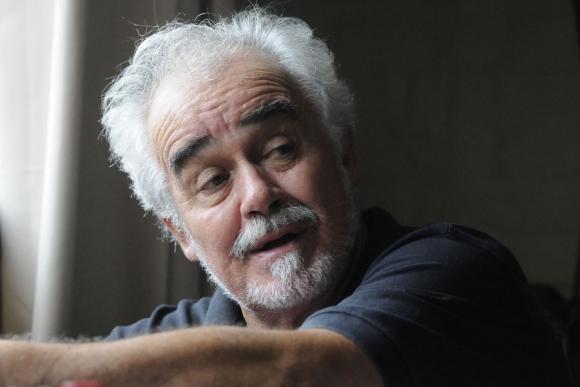 """""""Vivo en uno de los países más racistas del mundo (Brasil)"""", dice Charlone. Foto: R. Figueredo"""