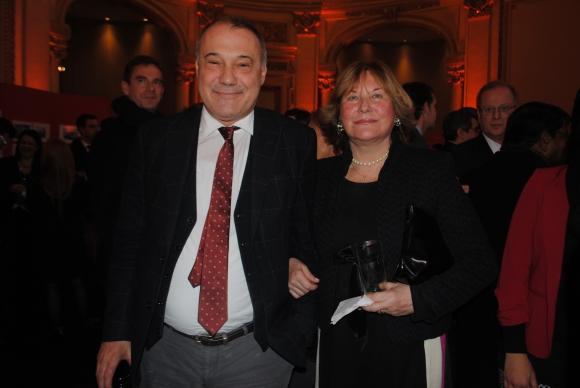 Embajador de España Roberto Varela, María Helena Rodríguez Larreta.
