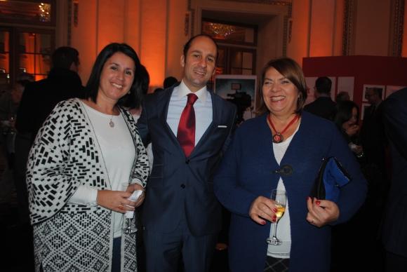 Virginia Álvarez, Federico Pérez del Castillo, Cármen Rico.