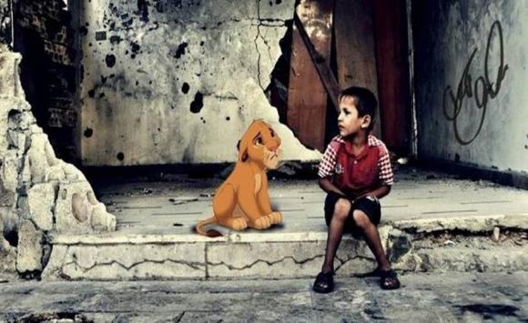 Disney en Siria. Imagen: Elias Zakhour.