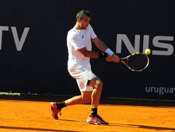 Cervantes sigue en carrera. Foto Uruguay Open
