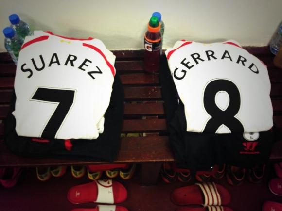 Suárez y Gerrard