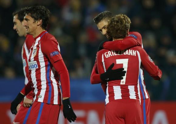 Atlético Madrid venció al Rostov y se mantiene como líder en su grupo. Foto: Reuters