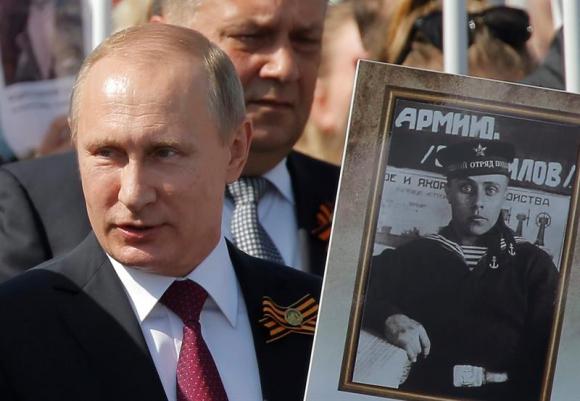 Rusia celebra Día de la Victoria contra Alemania Nazi. Foto: EFE