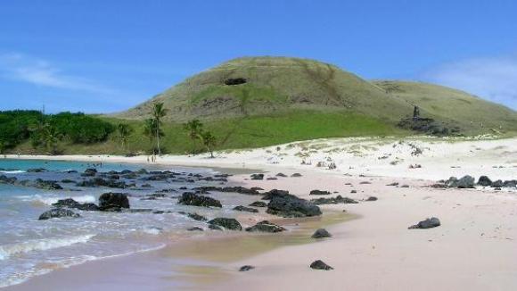 7) Anakena, Isla de Pascua, Chile. Foto: Tripadvisor