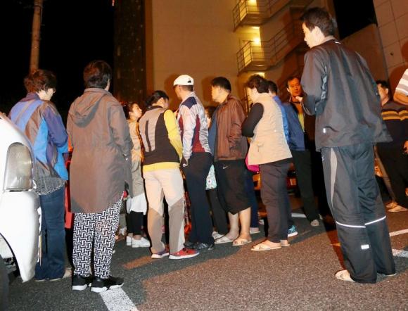 Terremoto sacudió el sudoeste de Japón. Foto: Reuters