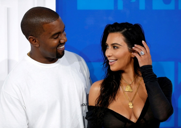 Kanye West y Kim Kardashian, un matrimonio exitoso. Foto: Reuters