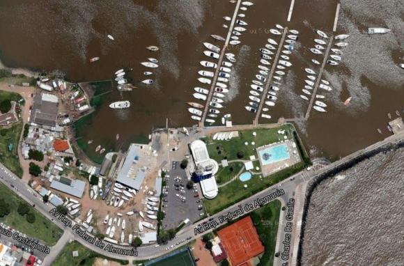 Puertito del Buceo. Foto: Google Earth