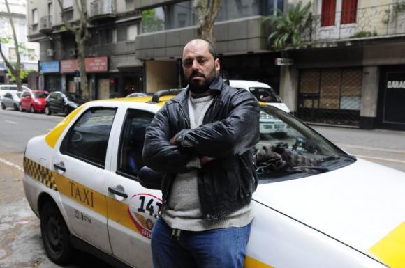 Para Marcial Martínez la situación empeorará si no se prohíbe Uber. Foto: M. Bonjour