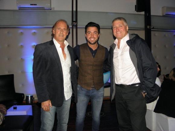 Jorge Seré, Fernando Cristino y Sergio Gorzy