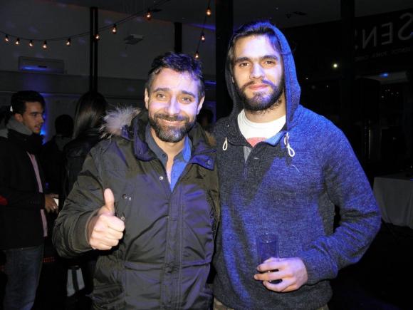 Danial Alejandro y Máximo Cativelli