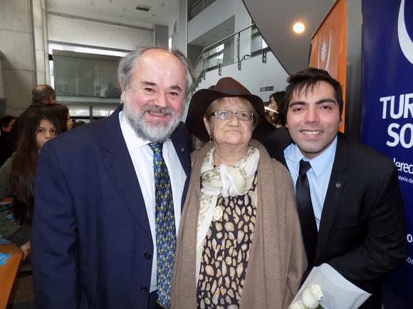 Alberto Torelli, Glenda Rondán, Mauricio Muñoz.