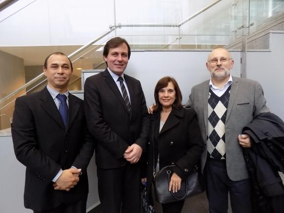 Juan Marcos Pereira, Fabio Lancaster, Pilar Torrado, Juan Martínez Escrich.