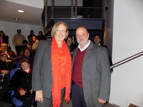 María Julia Muñoz, Heber Galli.