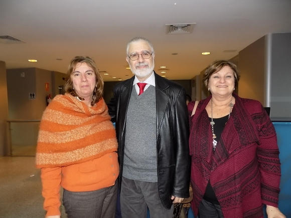 Mariana Campelo, Benjamín Liberoff, Beatriz Franchi.