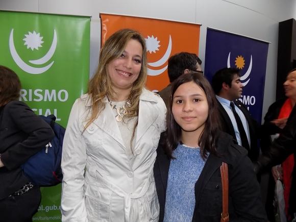 Andrea Carpanessi, Azul Aguilar.