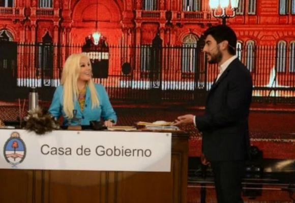 Facundo Moyano y Susana
