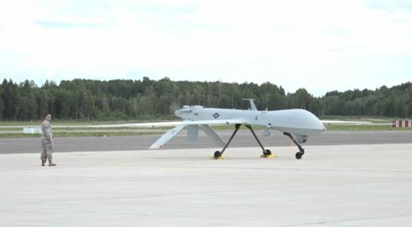 Drones de ataque de Estados Unidos. Foto: EFE