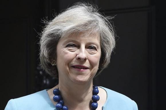 Theresa May. Foto: EFE.