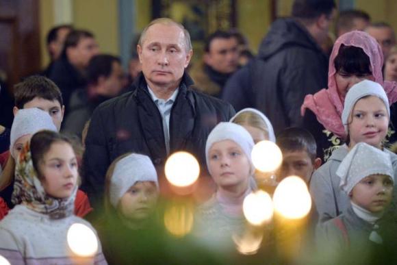 Vladimir Putin, presidente de Rusia. Foto: AFP.