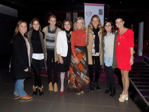 Malena Storace, Mariana Fox, María Clara Martínez, Cecilia Torrendell, Cristina Giuria, Lucía Scandroglio, Verónica Rodríguez, Rocío Rovira.