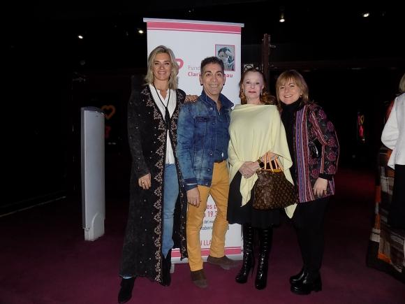 Sara Perrone, Nacho Cardozo, Laetitia D'Arenberg, Carolina Viola.