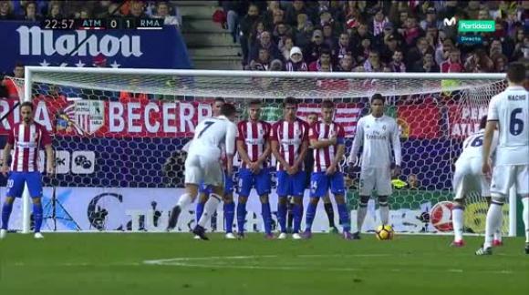 Atlético 0-3 Real Madrid - Liga de España