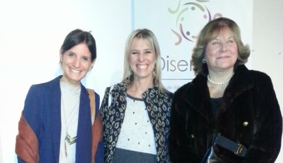 Ana Abella, Mariana Blengio, María Helena Rodríguez Larreta.