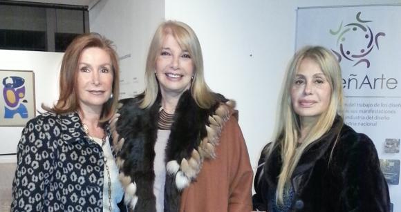 Dina Villar, Susana Bernik, Margarita Gruning.